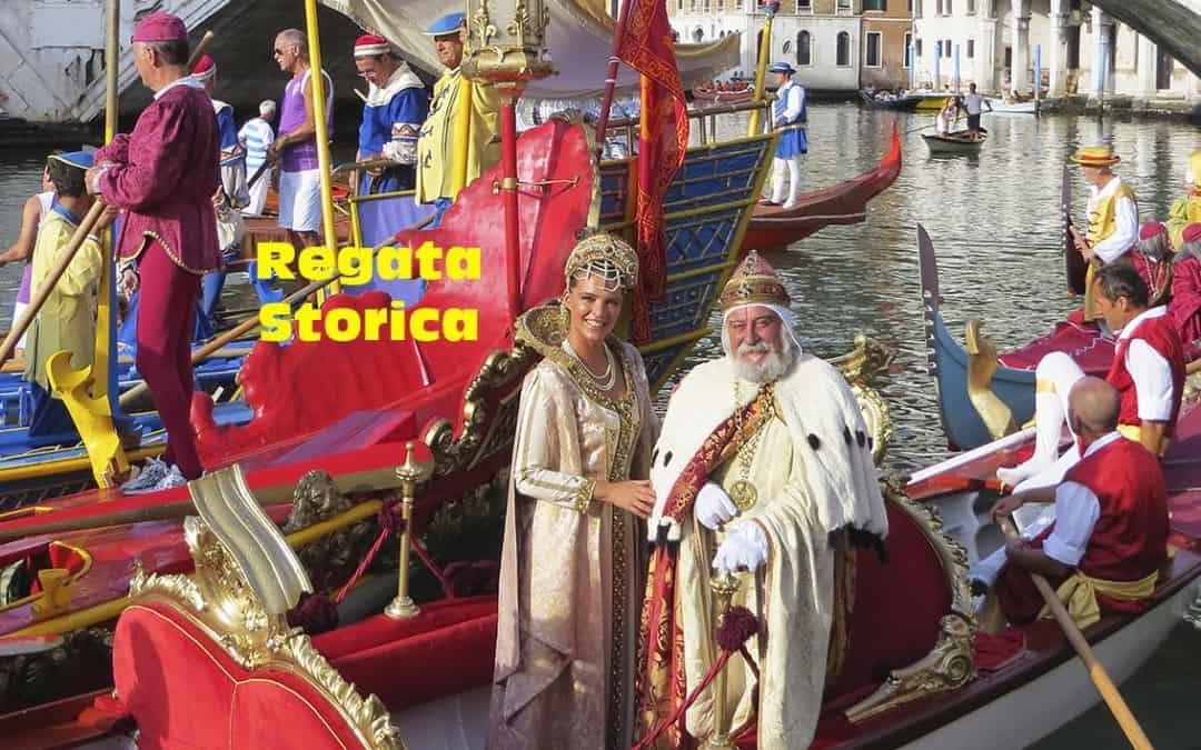 The Regata Storica of Venice
