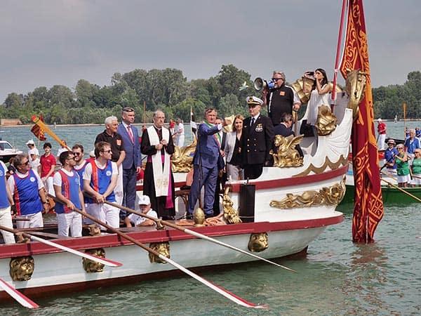 The Wedding Ceremony as part of the Festa della Sensa in Venice