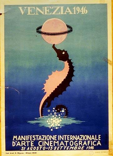 Venice Film Festival - Poster from 1946